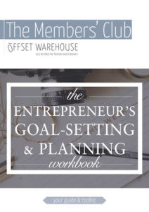 The Entrepreneur's Goal-Setting & Planning Workbook