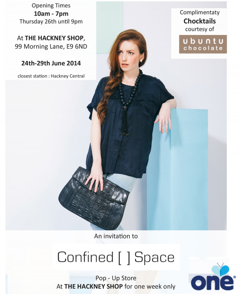 Confined Space Ethical concept Store