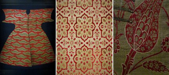 Ottoman Textiles from the V&A Islamic Collection (1500 – 1600): 'The stripes of the Tiger'; 'Velvet with 8-Point Stars'; and the much-loved Tulip.