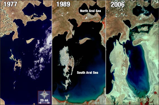 Aral Sea Devastation