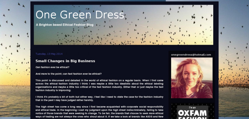 OneGreenDress