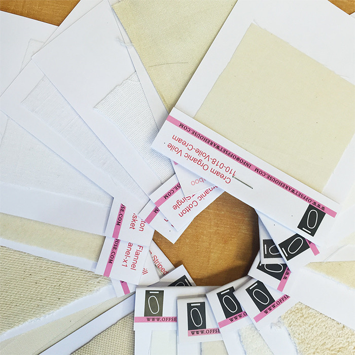 Nude Fabric Sample Pack