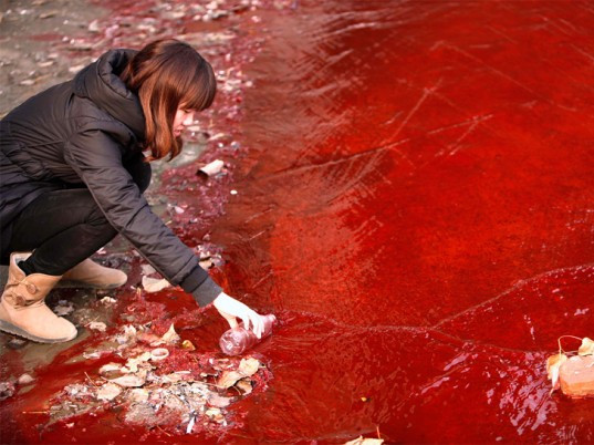 Water Pollution China