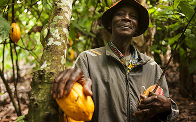 Eco-labelling ensures we can actively choose to supporting livelihoods of farmers. Image courtesy of Fairtrade
